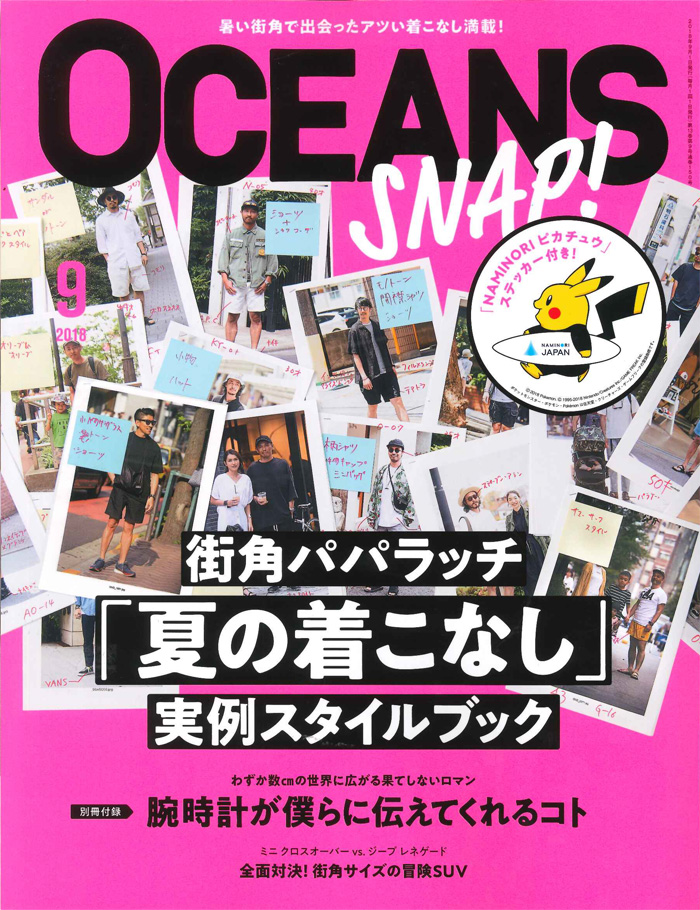 OCEANSにBianchiの商品が掲載されました。