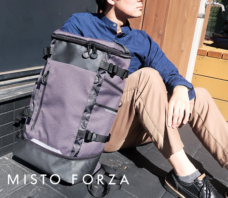 FINE BOYS12月号にMisto Forzaの商品が掲載されました。